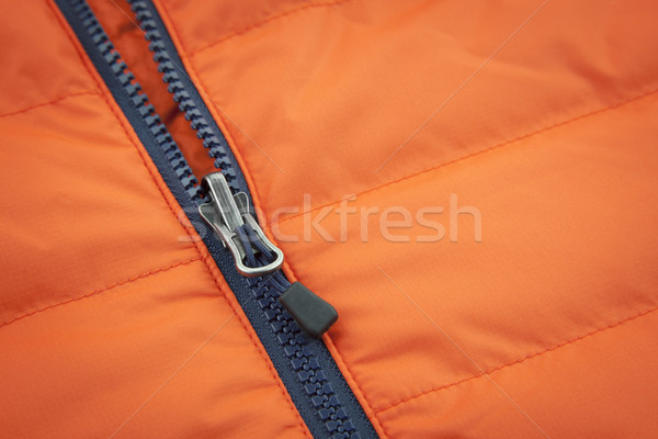Pomarańczowy płótnie wodoodporny tle tkaniny czerwony Zdjęcia stock © Taiga