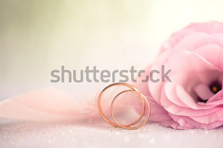 Wedding Background on defocused sparkle Stock photo © Taiga