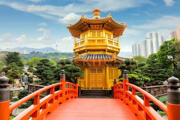 Nan Lian Garden, Hong Kong, China Stock photo © Taiga