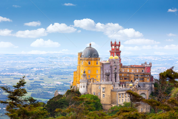 Luchtfoto Portugal europese reizen horizontaal Stockfoto © Taiga