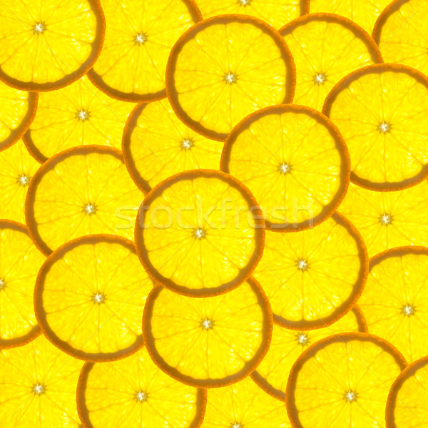 Background with citrus-fruit of orange slices  / back lit Stock photo © Taiga