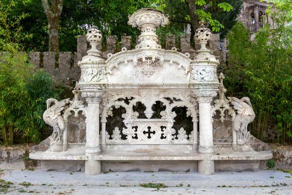 дворец Лиссабон Португалия подробность парка здании Сток-фото © Taiga