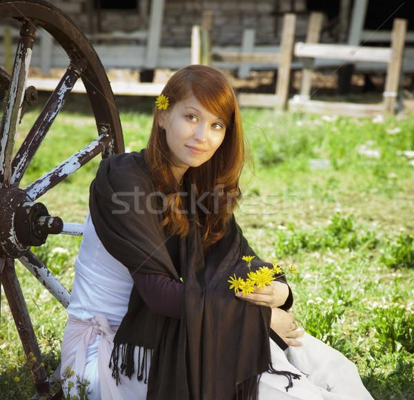 country stile model portrait Stock photo © Taiga