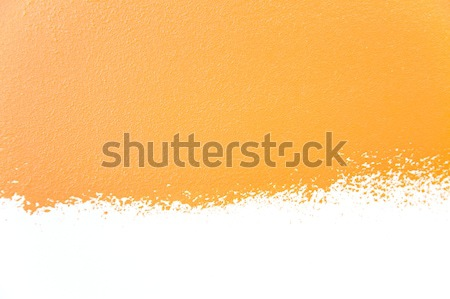 painted wall's background / orange / real texture Stock photo © Taiga
