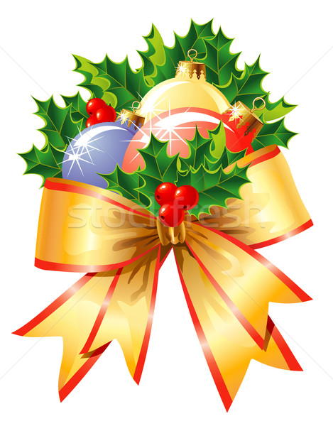 Christmas decoration / vector Stock photo © Taiga