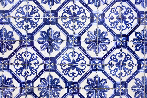 традиционный плитка Лиссабон Европа подробность плитки Сток-фото © Taiga