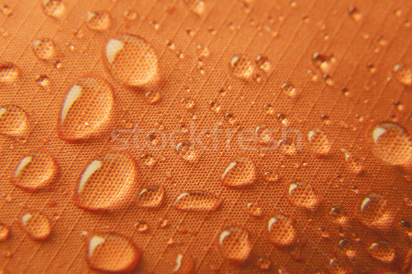 Orange waterproof textile background Stock photo © Taiga