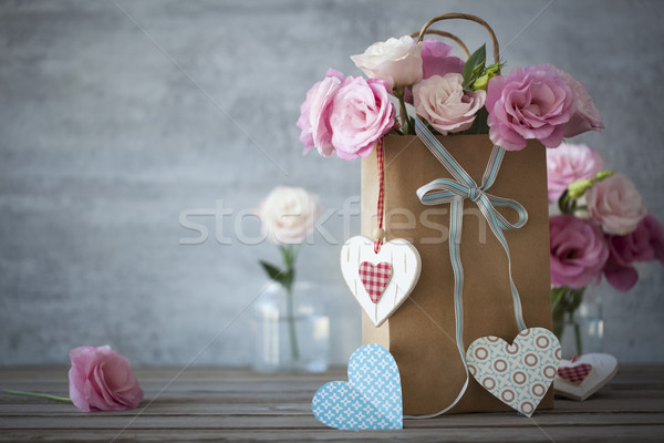 Love's still life background with roses  Stock photo © Taiga