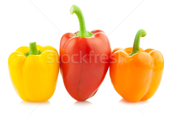 Fresh Colored Peppers / Paprika / Isolated  Stock photo © Taiga