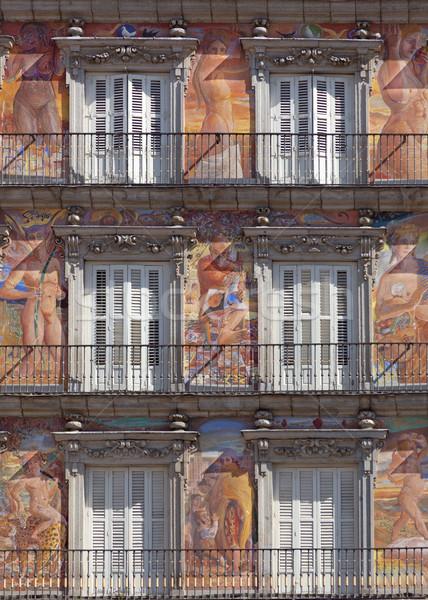 Casa de la Panaderia on Plaza Mayor in Madrid, Spain Stock photo © Taiga
