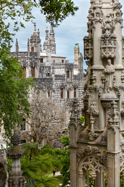 Arhitectura veche Europa palat Lisabona Portugalia cer Imagine de stoc © Taiga