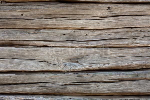 Eski yıpranmış ahşap doku 100 yıl Stok fotoğraf © Taiga