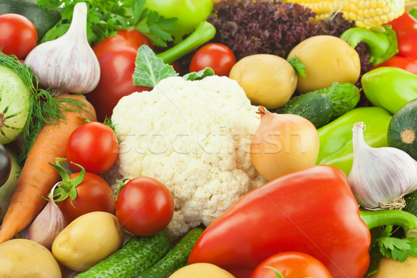 Fresh Healthy Vegetables /  Food Background Stock photo © Taiga