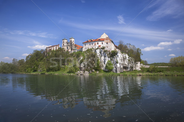 Stock photo: Ancient polish castle view