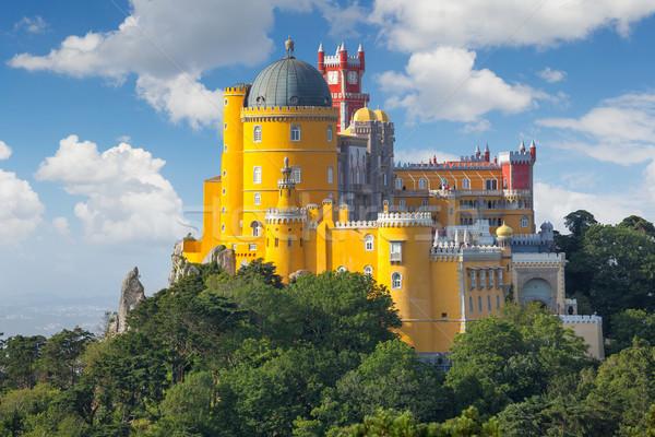 宮殿 リスボン ポルトガル 幻想的な ヨーロッパ 建物 ストックフォト © Taiga