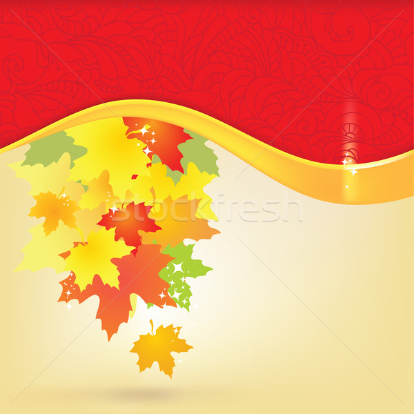 Exemplaar ruimte abstract blad achtergrond schoonheid Stockfoto © Taiga