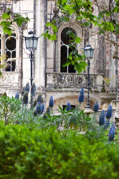 Old European Arhitecture / Quinta da Regaleira Palace in Sintra, Stock photo © Taiga
