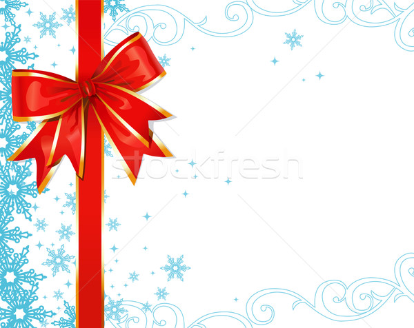 Christmas ornaments / vector background Stock photo © Taiga