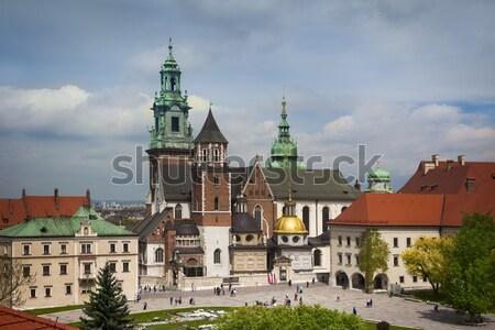 Krakow Wawel castle view Stock photo © Taiga