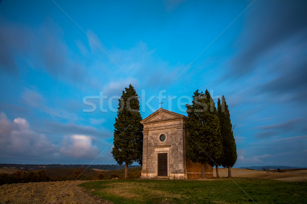Long Exposure Famous Tuscany Landscape Stock photo © Taiga