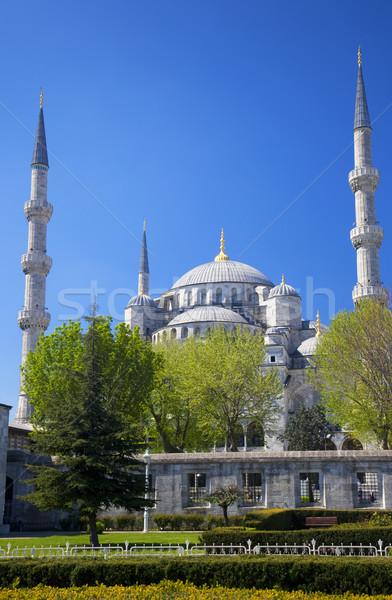 Blue mosque  / Istanbul, Turkey Stock photo © Taiga