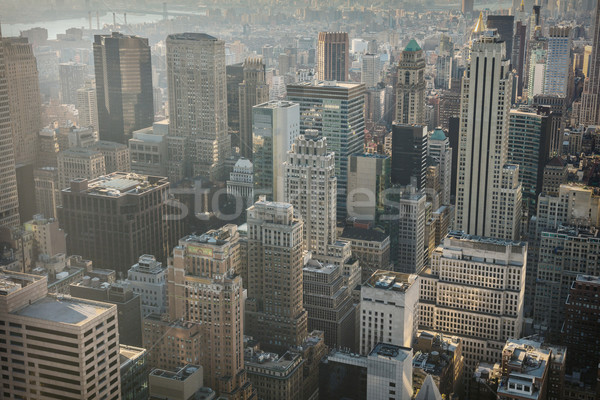Photo stock: New · York · City · Skyline · urbaine · gratte-ciel · Manhattan · immeubles · de · bureaux