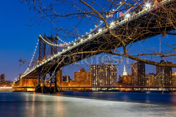 New York City -  Manhattan Bridge Stock photo © Taiga