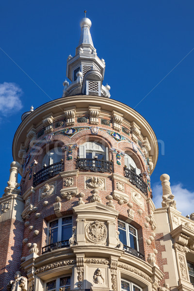 Madrid, Spain / beautiful historical building, Old architecture Stock photo © Taiga