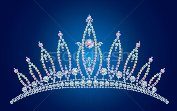 Diamond tiara / vector illustrations Stock photo © Taiga