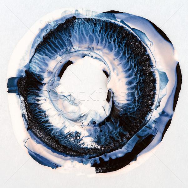 Acrylic paints circle Stock photo © Taigi
