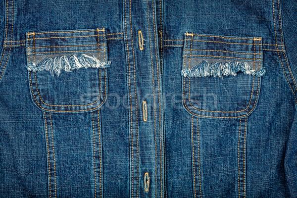 Jeans jacket Stock photo © Taigi