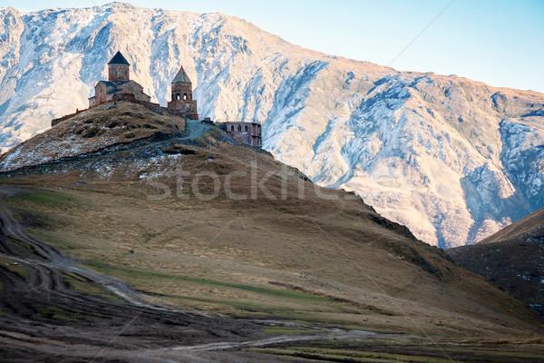 Gergeti church     Stock photo © Taigi