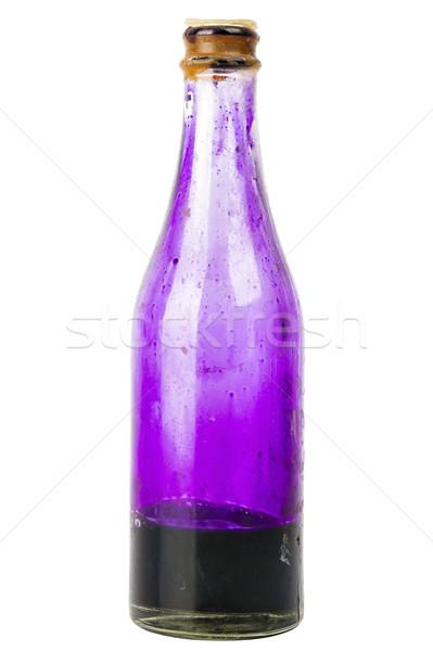 Old bottle with potassium permanganate Stock photo © Taigi