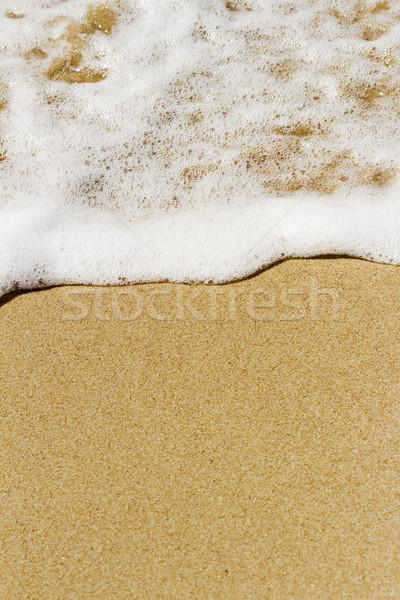 Foto stock: Onda · praia · macio · mar · praia · água