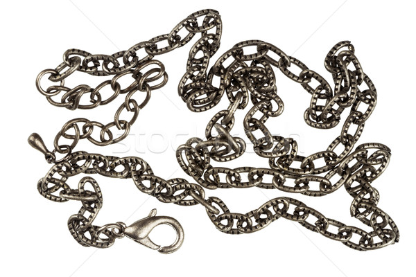 Stainless steel chain  Stock photo © Taigi