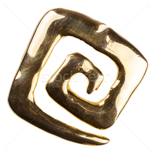 Old gold brooch  Stock photo © Taigi