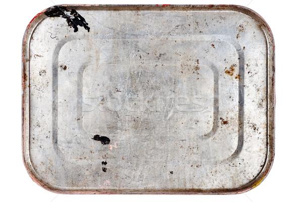 Rusty metal tin can   Stock photo © Taigi