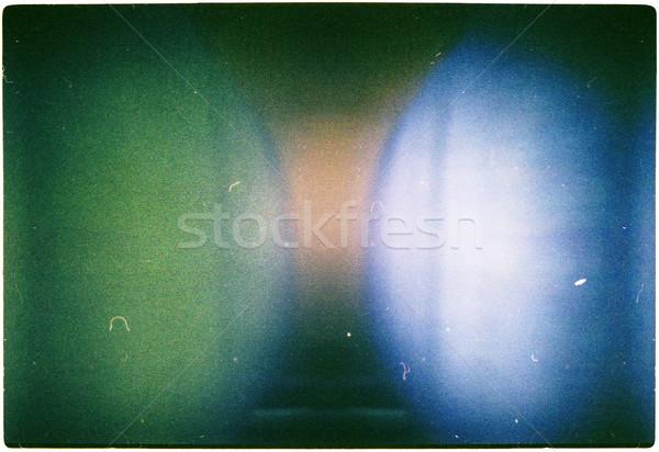 Film vert bleu jaune couleurs texture Photo stock © Taigi