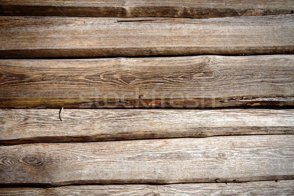 Photo stock: Bois · planche · mur · texture · construction · résumé