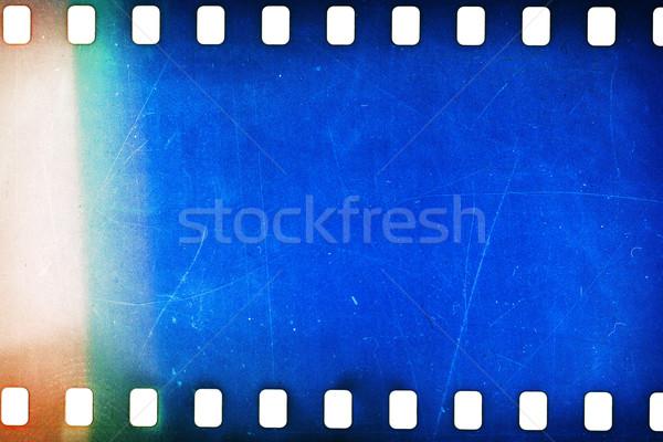 Edad grunge tira de película tira de película textura Foto stock © Taigi