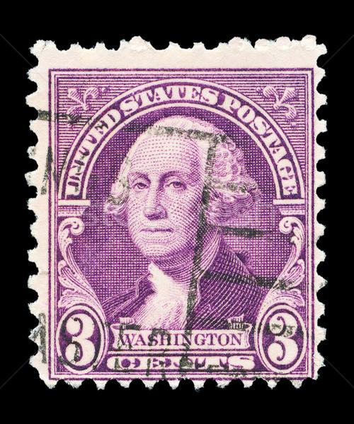 американский пост штампа Соединенные Штаты напечатанный портрет Сток-фото © Taigi