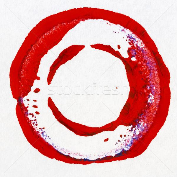 Vibrant acrylic paint circle Stock photo © Taigi