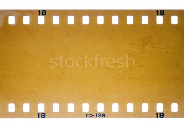 старые Гранж Диафильм желтый шумный Сток-фото © Taigi