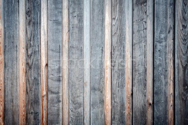 Eski ahşap doku inşaat duvar Stok fotoğraf © Taigi