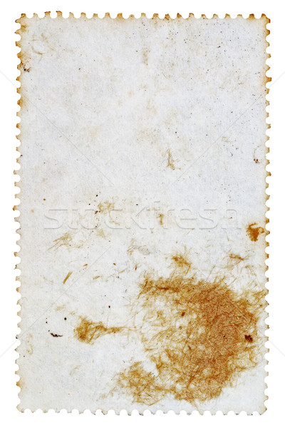 Reverse side of a postage stamp Stock photo © Taigi