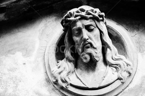 Cara Jesús Cristo tumba edad lápida sepulcral Foto stock © Taigi