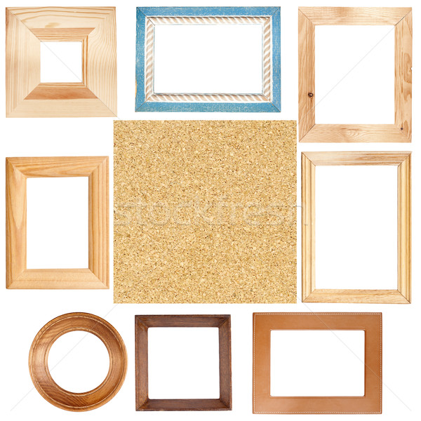 Quadros placa de cortiça textura grande tamanho Foto stock © Taigi