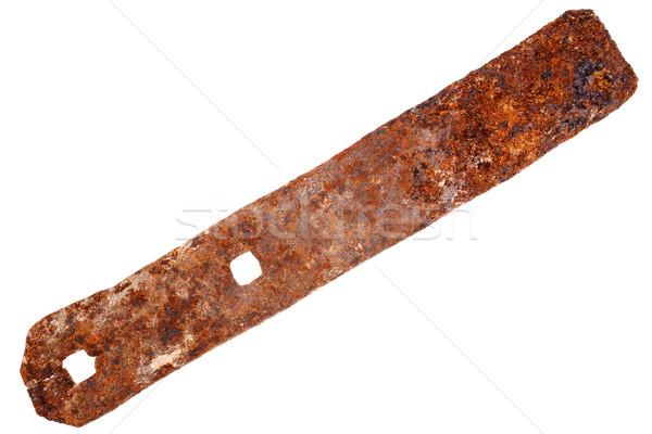 Rusty metal plate  Stock photo © Taigi