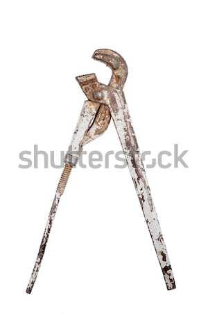 古い アジャスタブル 金属 キー さびた 孤立した ストックフォト © Taigi