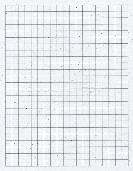 Stock photo: White squared paper